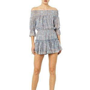 Misa Los Angeles Darla Dress in Washed Tile